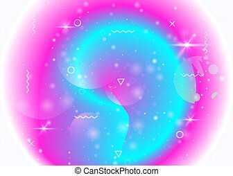 Universe background with galaxy and cosmos shapes and star dust.