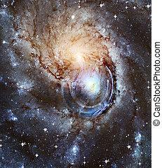 universe., galassia spirale
