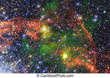 universe., imagen, elementos, esto, nasa, amueblado, ...