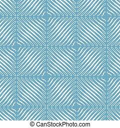 universel, bleu, flourishes, fond, décoration, rouleau, éléments, boucle, toile de fond, modèle, papier peint, vecteur, carrée, répété, seamless, forme, vert