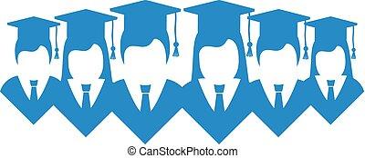universidade, desenho, estudante
