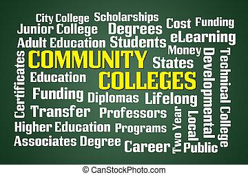 universidades, comunidad