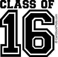 università, classe, 16