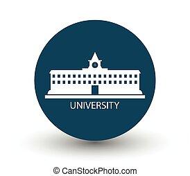 università, icona