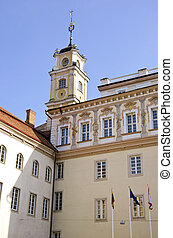 università, Lituania,  Vilnius, torre