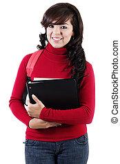 università, studente femmina