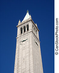 universität, campanile, kalifornien, berkeley
