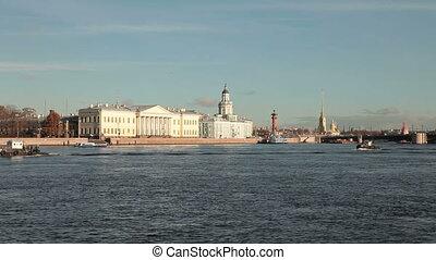 Vasilyevsky Island, St. Petersburg - Universitetskaya...