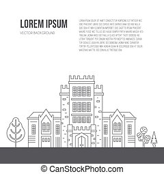 University Concept with text