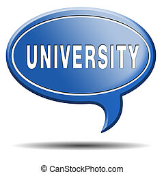 university learn get educated and gather knowledge and...