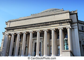 University library, NY - Columbia University library in New ...