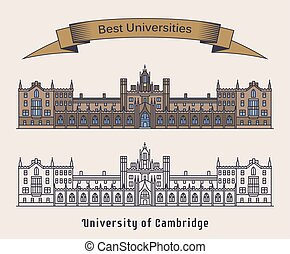 University of Cambridge building. Architecture