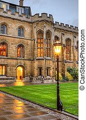 University of Cambridge in Cambridge, England, UK
