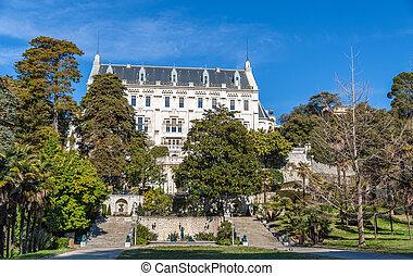 University of Nice Sophia Antipolis, Chateau Valrose
