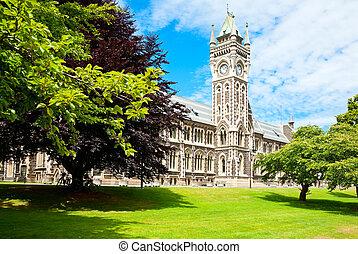 University of Otago - Clocktower of University of Otago...
