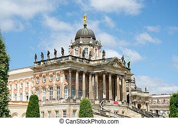 University of Potsdam, New Palace, Sanssouci, Brandenburg,...