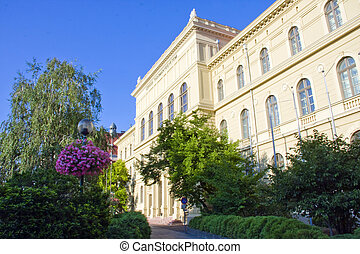 University of Szeged - The classicist building of the...