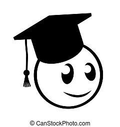 University student - Funny design of university student