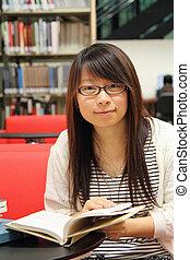 University student girl