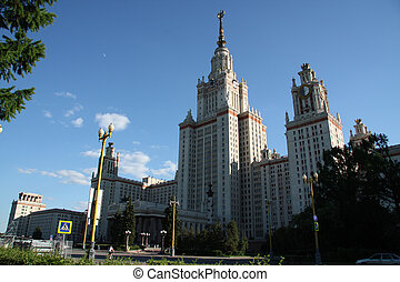 University, the city of Moscow