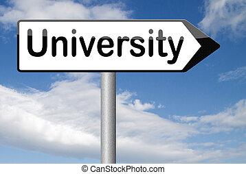 university - University education and graduation study...