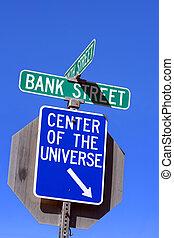 universo, centro