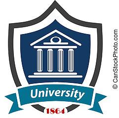 uniwersytet, emblemat