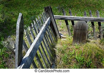 Unknown Headstone Grave Marker