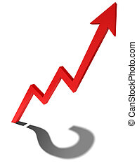 Unknown Trend - Business graph concept image