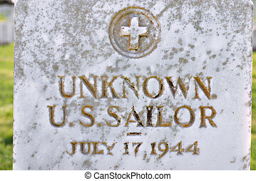 Unknown US Sailor