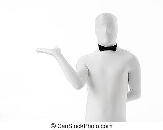 unknown waiter bow tie
