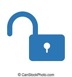 unlock glyph color icon