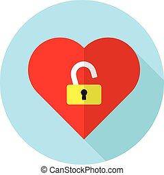 unlock heart