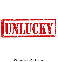 Unlucky-stamp