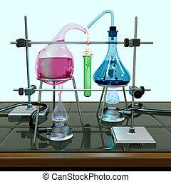 unmöglich, chemie, versuch