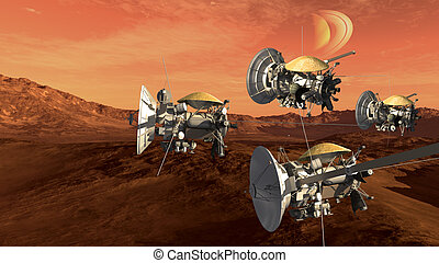 Mars like red planet