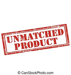 Unmatched Product-stamp - Grunge rubber stamp with text ...