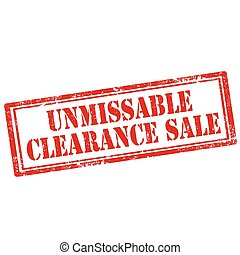 Unmissable Clearance Sale