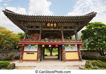 unmunsa, corée, temples, sud