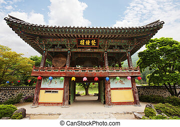 unmunsa, coréia, templos, sul