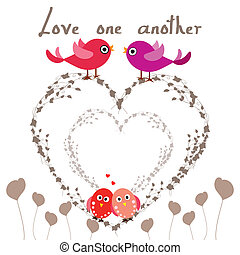 uno, amor, otro