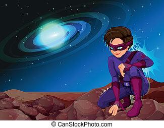 uno, bello, superhero