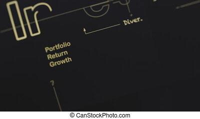 uno, cianografia, per, investire, 4k