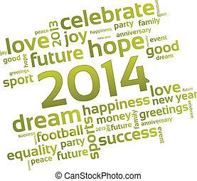 uno, desiderio, per, il, anno nuovo
