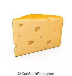 uno, pace, di, formaggio