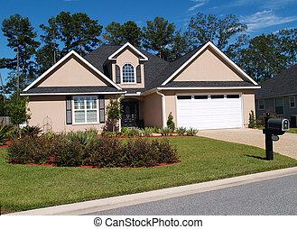 uno, storia, residenziale, casa