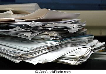 unordentlich, papier