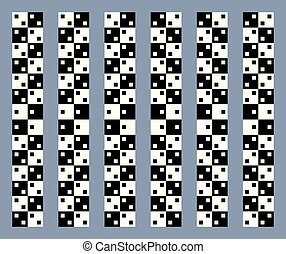 Unreal and hypnotic optical illusion. Creative trick and...