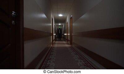 Unrecognizable Man In The Corridor - Unrecognizable man in ...