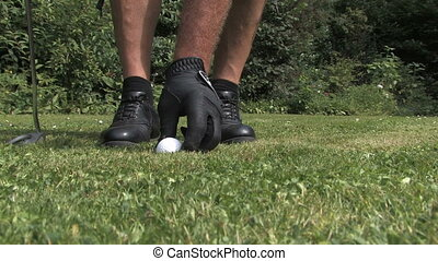 Unsportive - Playing golf unsportive